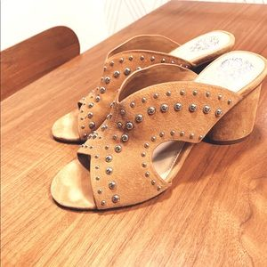 Vince Camuto sandals. Studded!